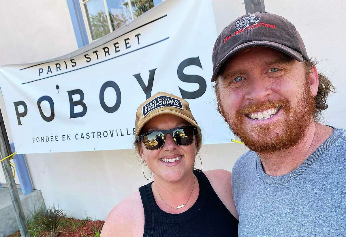 The husband-and-wife team of Shelly and Jerry Mackie opened Paris St. Po'Boys in Castroville in April. They also own the coffee shop Magnolia Filling Station just down the street.