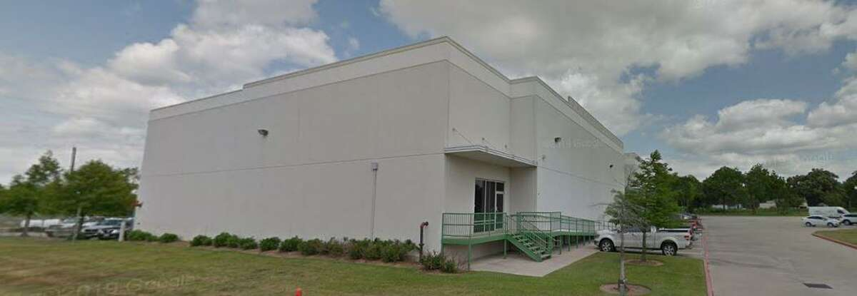 A warehouse in Tomball, 202 Live Oak, where the Tomball Economic Development Corporation plans to develop the South Live Oak Business Park.