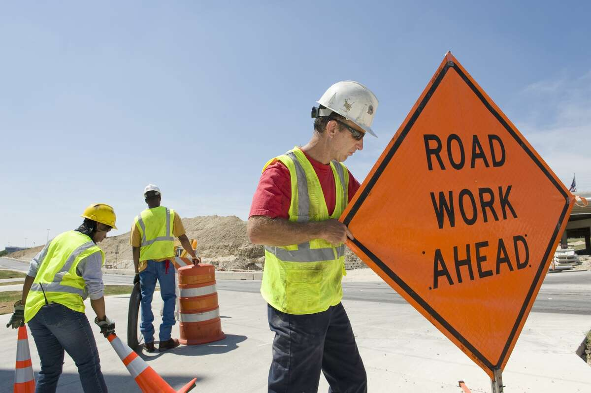 Traffic will be clogged on North Loop 610 this weekend.