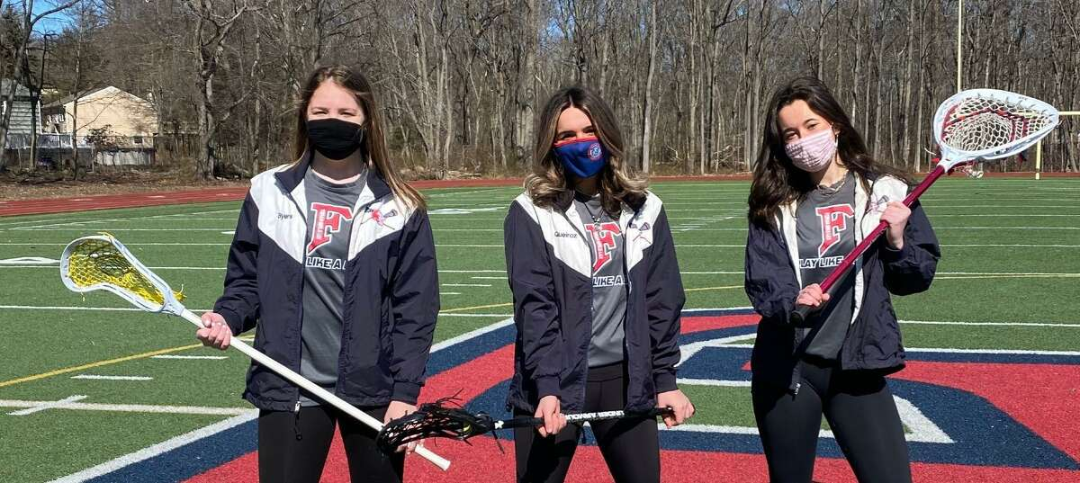 Anna Byers, Amanda Queiroz and Chloe Oliver are Foran's team captains.