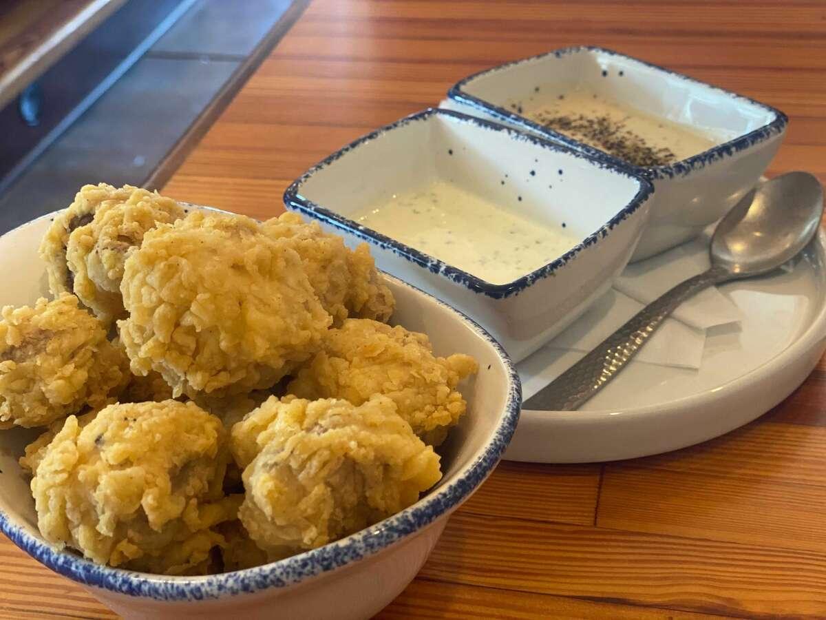 Fried mushrooms at Mama's Cafe.