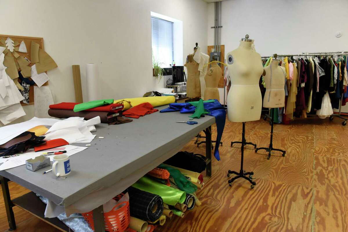 Costume making room in The Costumer on Thursday, May 13, 2021 in Schenectady N.Y. (Lori Van Buren/Times Union)