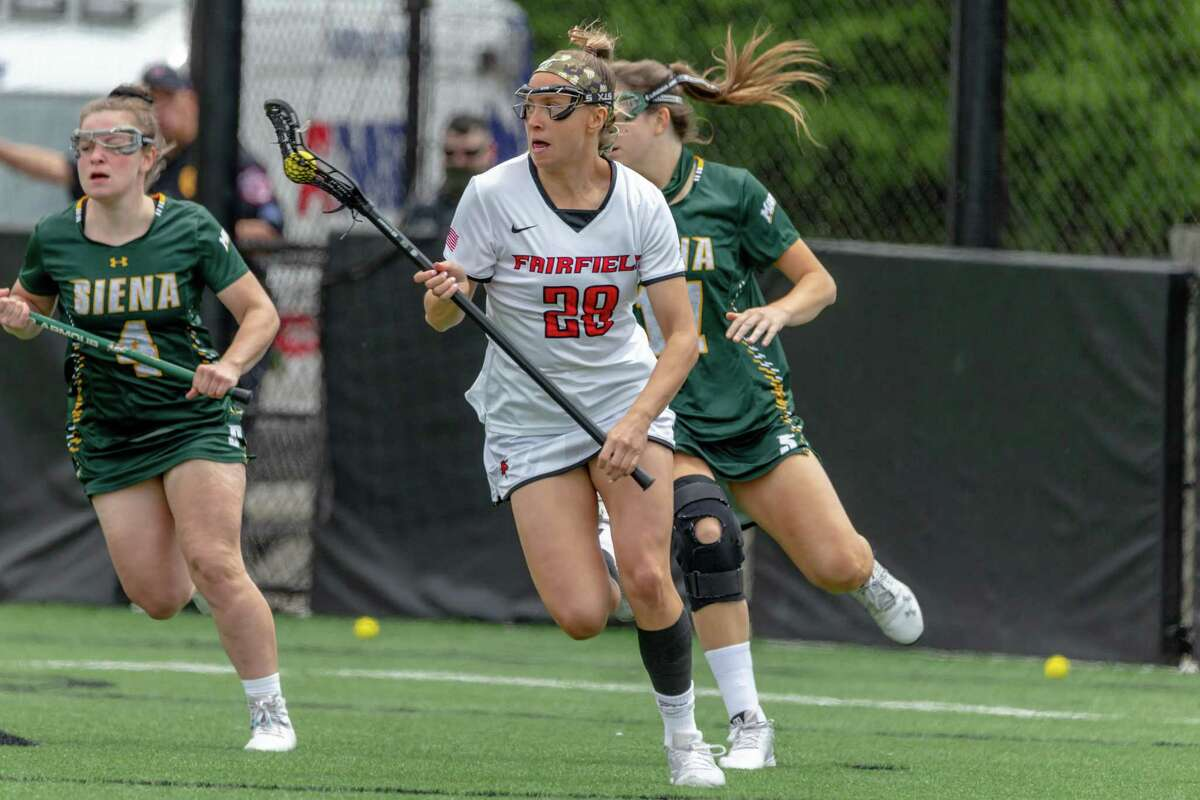 Maggie Reynolds has helped lead the Fairfield women's lacrosse team to the NCAA tournament.