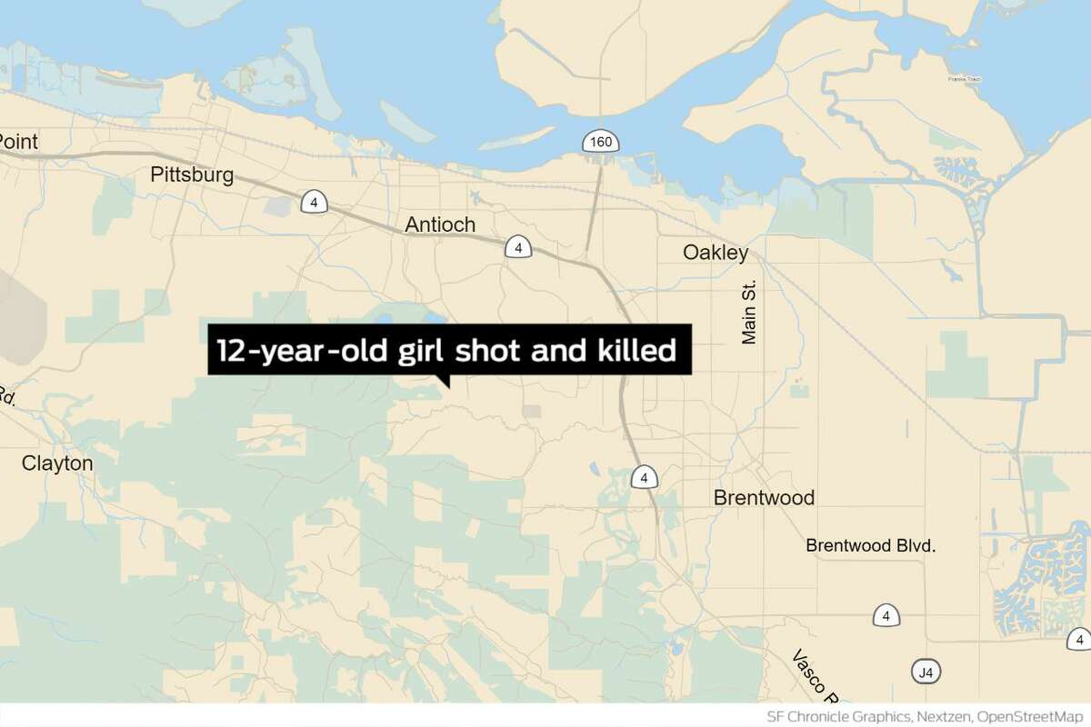 A 12-year-old girl was shot and killed Wednesday inside a residence on the 1200 block of Oak Haven Way.