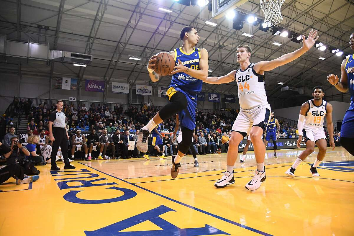 Before Juan Toscano-Anderson was a key member of Golden State's rotation, he made the Santa Cruz Warriors through an open tryout.