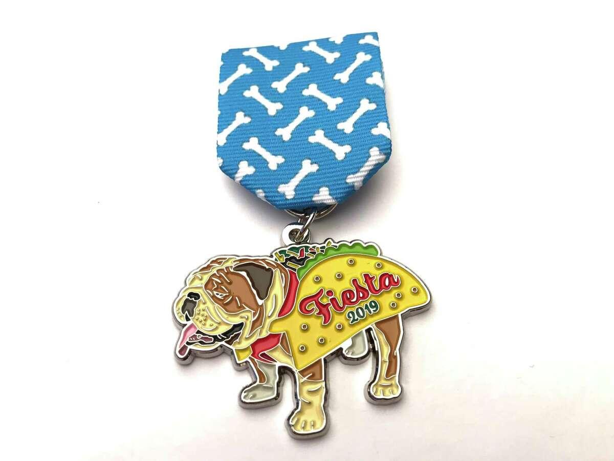 A winner of the 2019 Express-News Fiesta Medal Contest