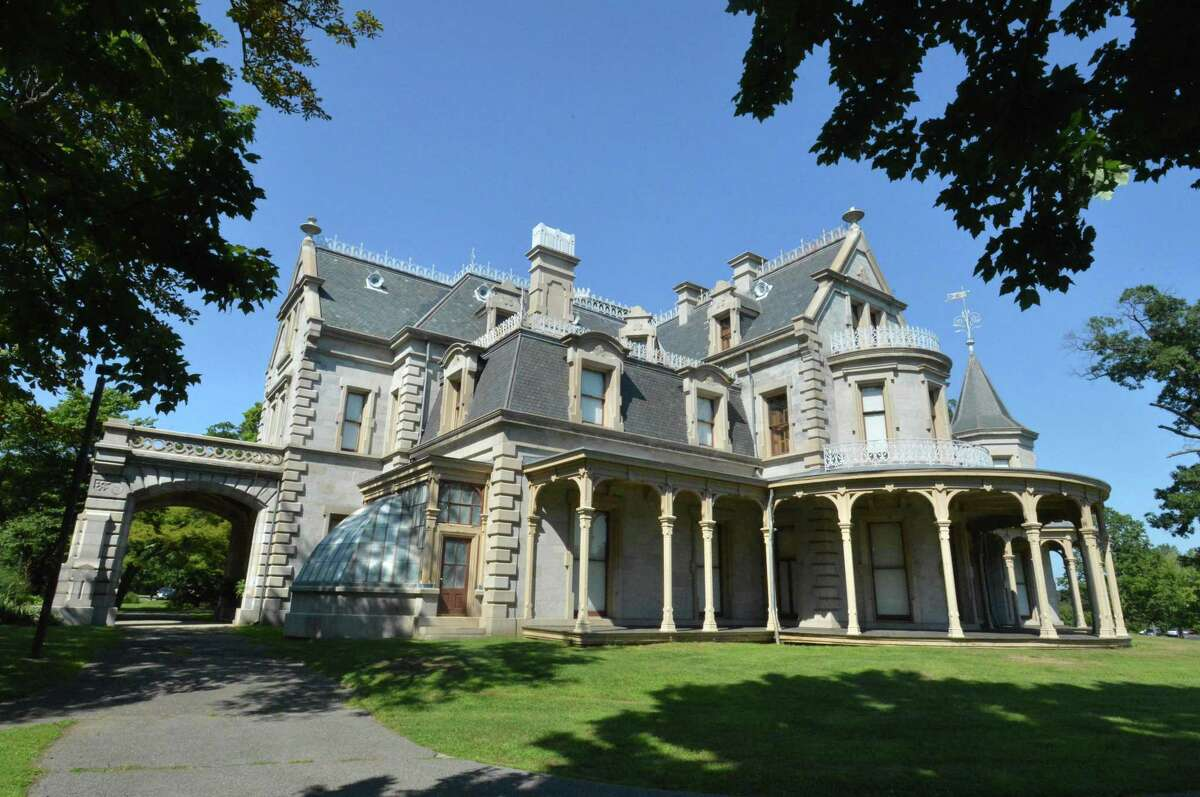 The Lockwood-Mathews Mansion Museum on Wednesday August 8, 2017, is on The Norwalk River Valley Trail in Norwalk Conn.