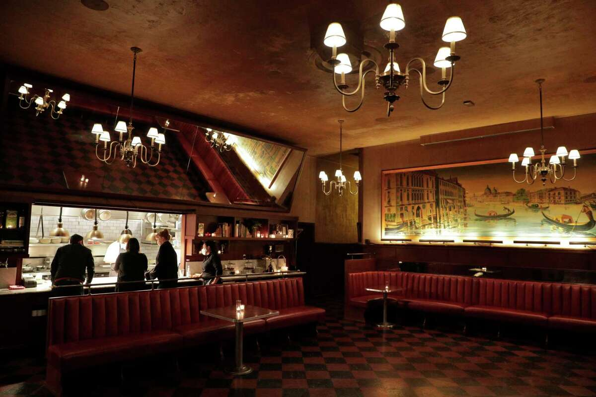 Tosca Cafe in North Beach is among the restaurants that have closed temporarily because of coronavirus cases among vaccinated employees.
