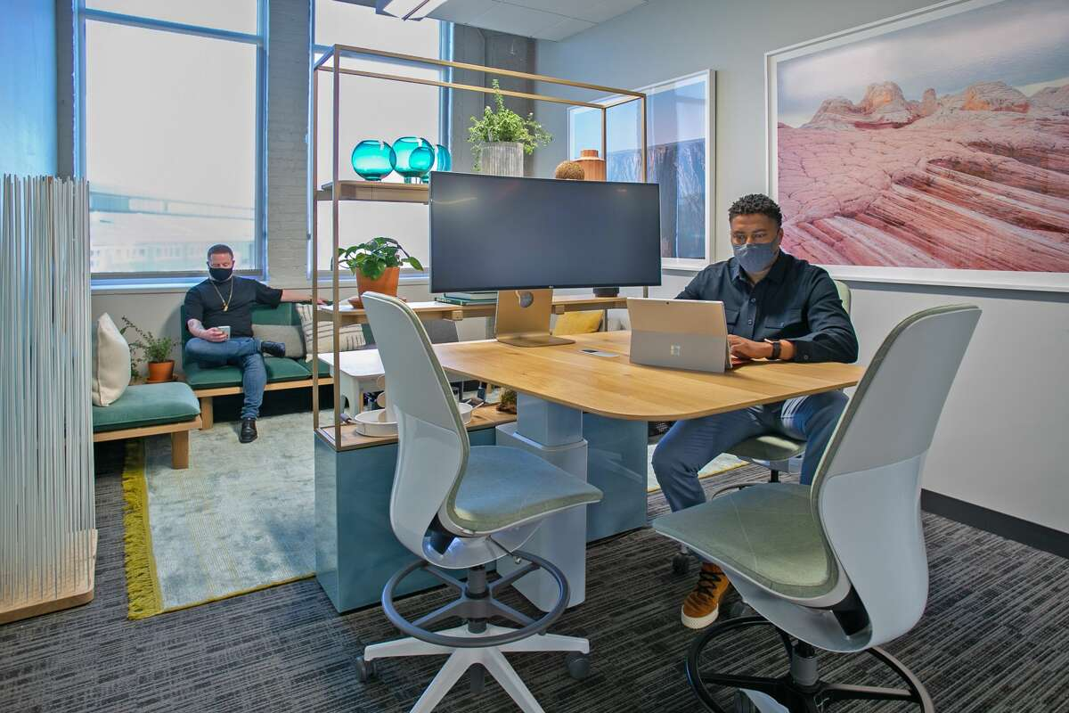 New work 'laboratory' shows post-pandemic possibilities for office work in Seattle