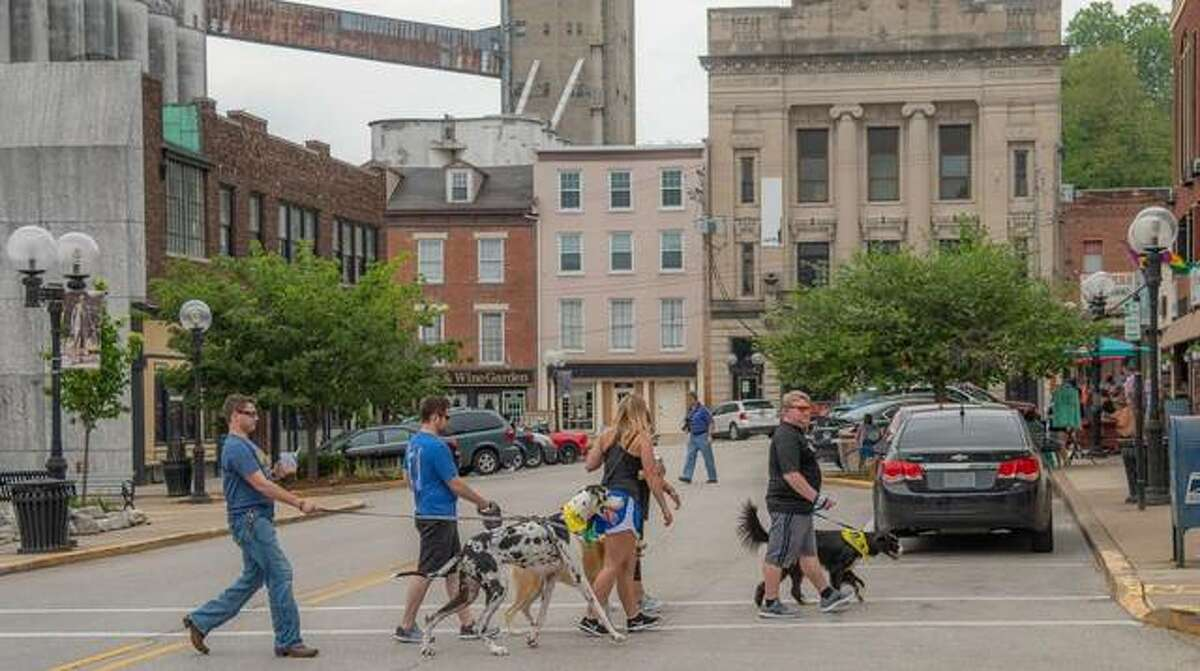 Pup Crawl - a pub crawl with dogs - is planned by Alton Main Street at 22 businesses 1-6 p.m. Saturday, May 15. Participants will receive a bandana for their pet and a