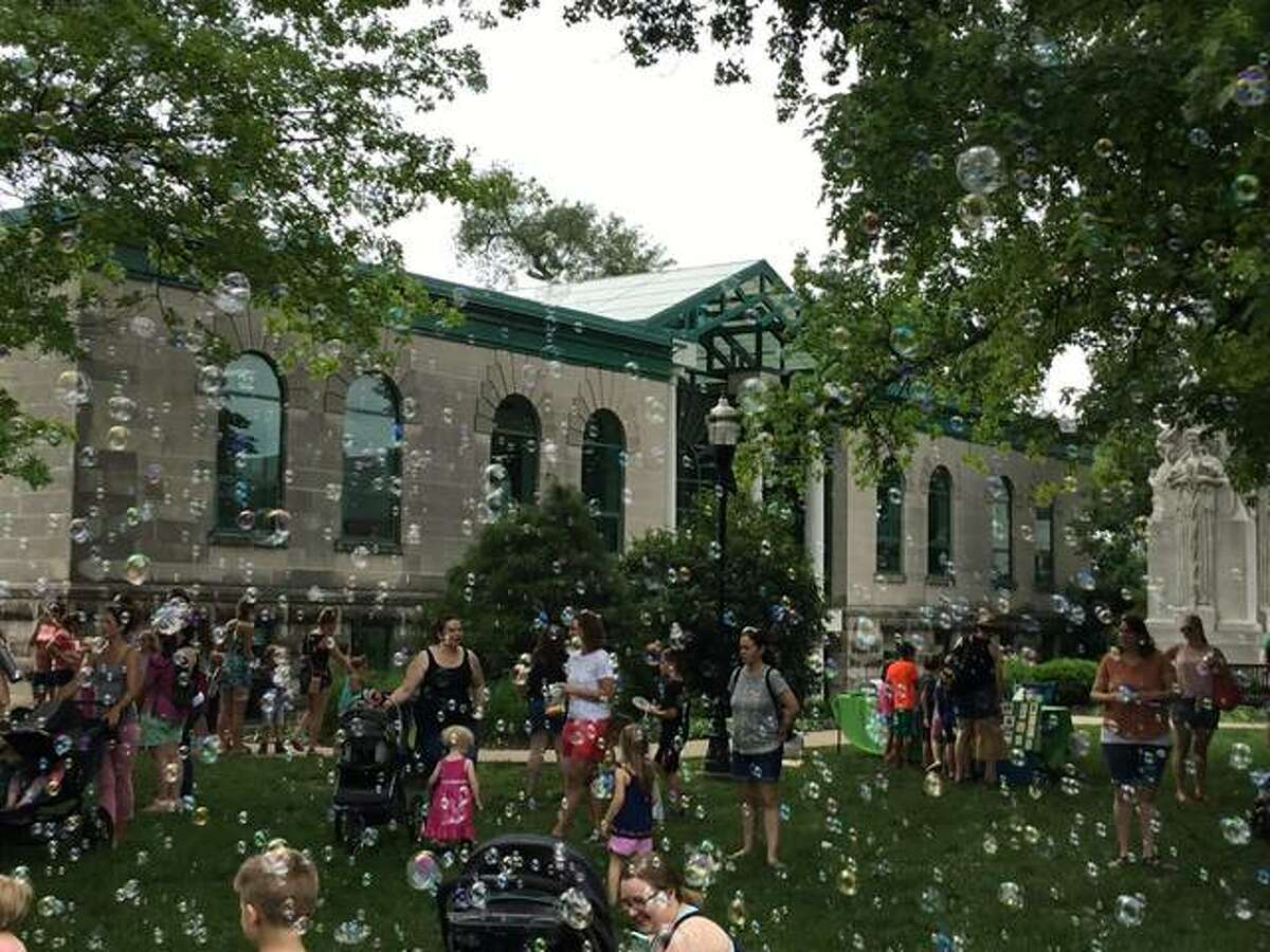 Shown is the city's Summer Kick-Off and Ice Cream Social event from 2019.