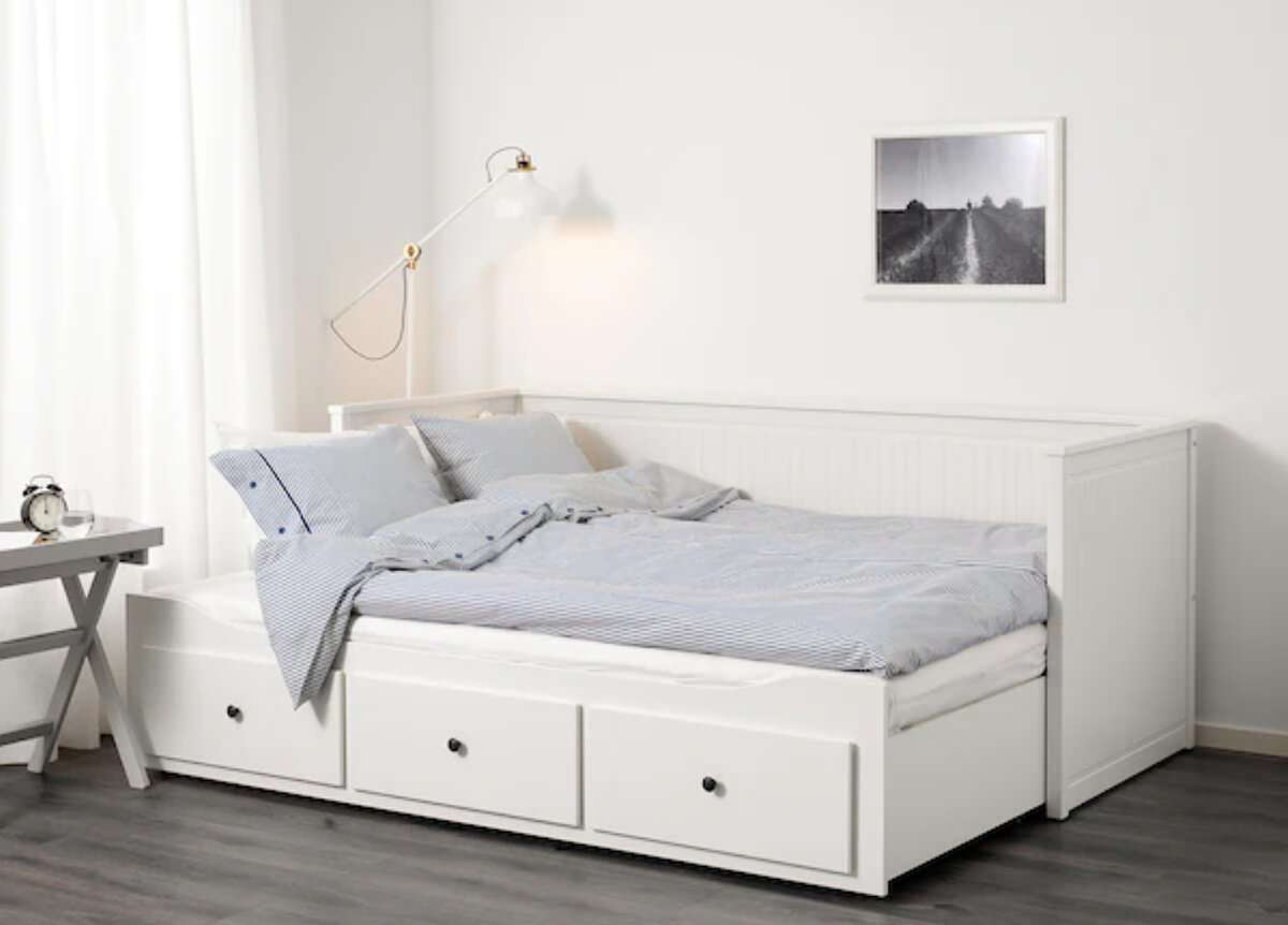 IKEA bed designs are the perfect marriage of functionality and style.