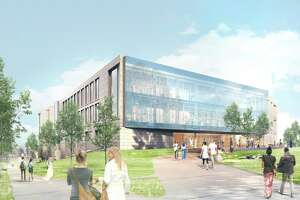 A new, 193,00 square-foot science center would replace Hall Atwater Laboratory at Wesleyan University in Middletown.