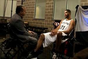 News 4 San Antonio Don Harris interviews Tim Duncan.