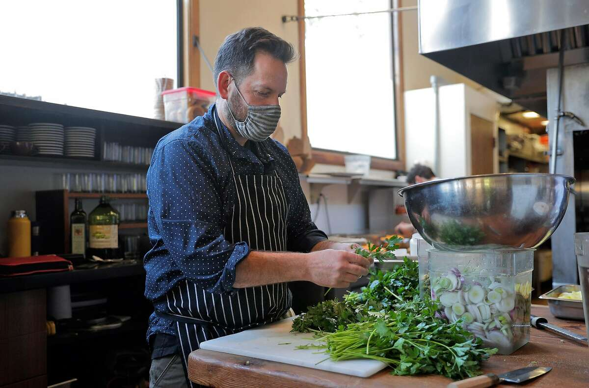 Chef and owner Laurence Jossel's acclaimed neighborhood restaurant Nopa turned 15 this month.