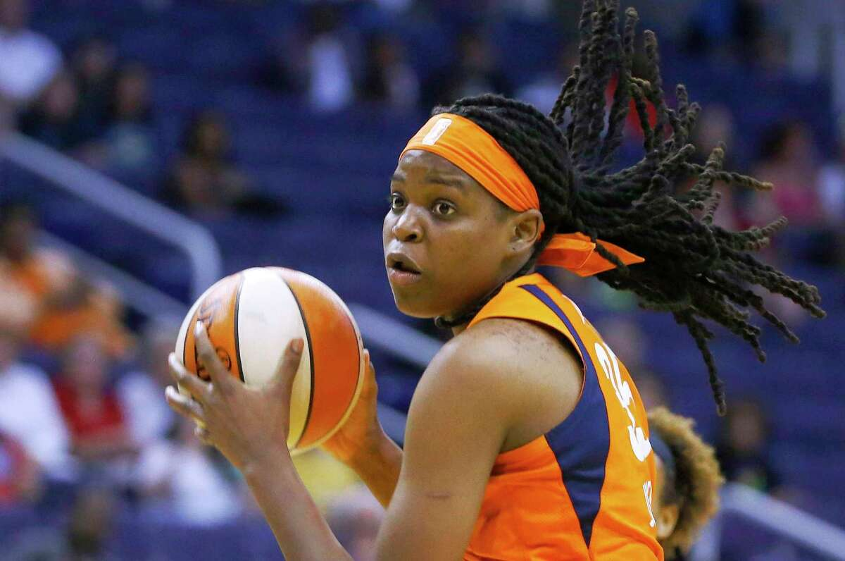 Forward Jonquel Jones is back with the Sun after opting out of last season due to coronavirus concerns.