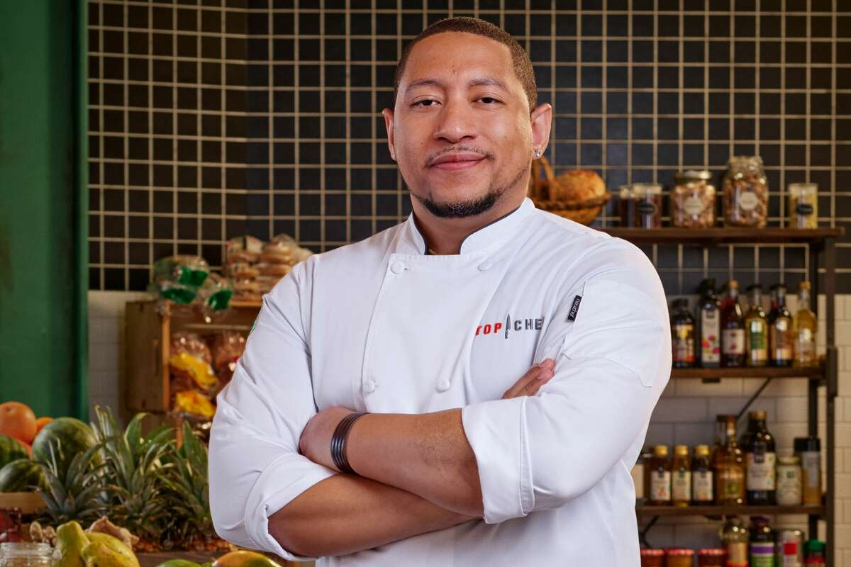 Nelson German, the chef-owner of Oakland restaurants Alamar Kitchen and Sobre Mesa, competed on the 18th season of