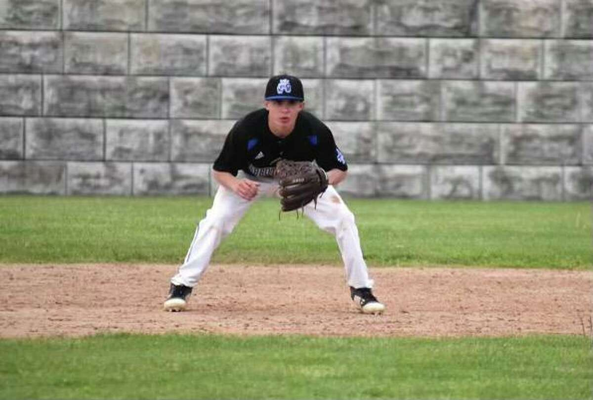 Abbott Tech baseball player Jake DeFonce.