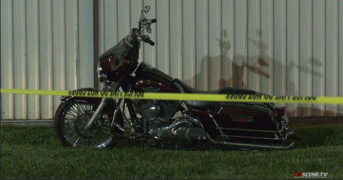 A motorcycle rider was shot and killed Thursday during a dispute with three other men on motorcycles at a northwest Houston intersection, police said.