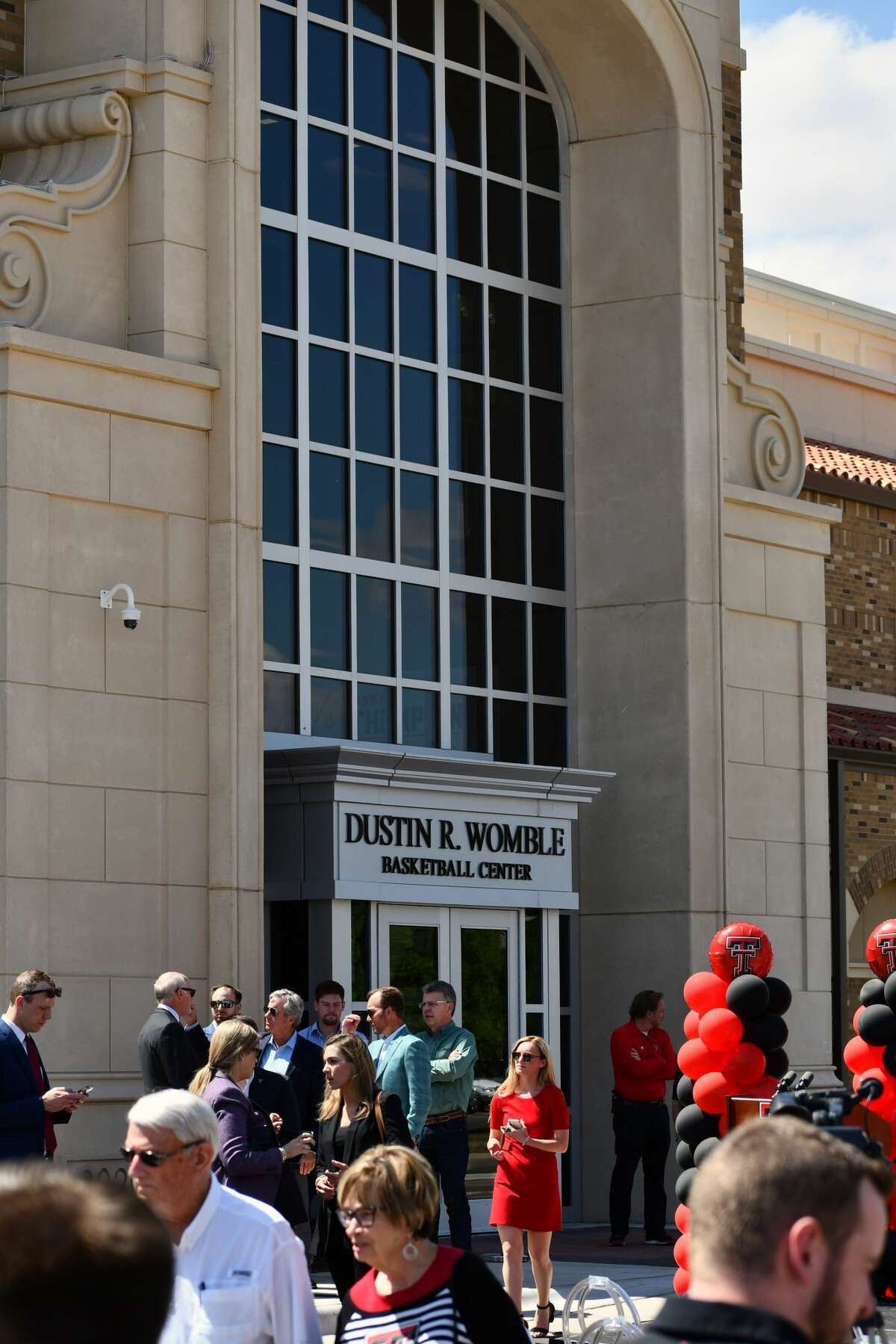 Texas Tech officially unveiled the Dustin R. Womble Basketball Center with a special ribbon cutting ceremony on Thursday at Lubbock.