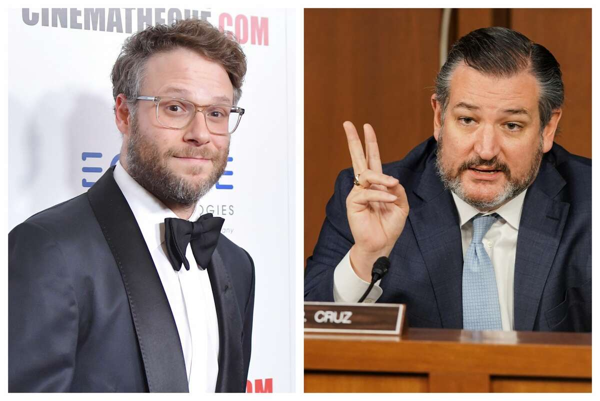 Seth Rogen made it clear he's still mad at Sen. Ted Cruz.