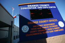 The Orange County Convention and Expo Center was built in 2012. The center has been built on raised ground to avoid possible damage from storm water. Photo taken Tuesday, 1/21/14 Jake Daniels/@JakeD_in_SETX