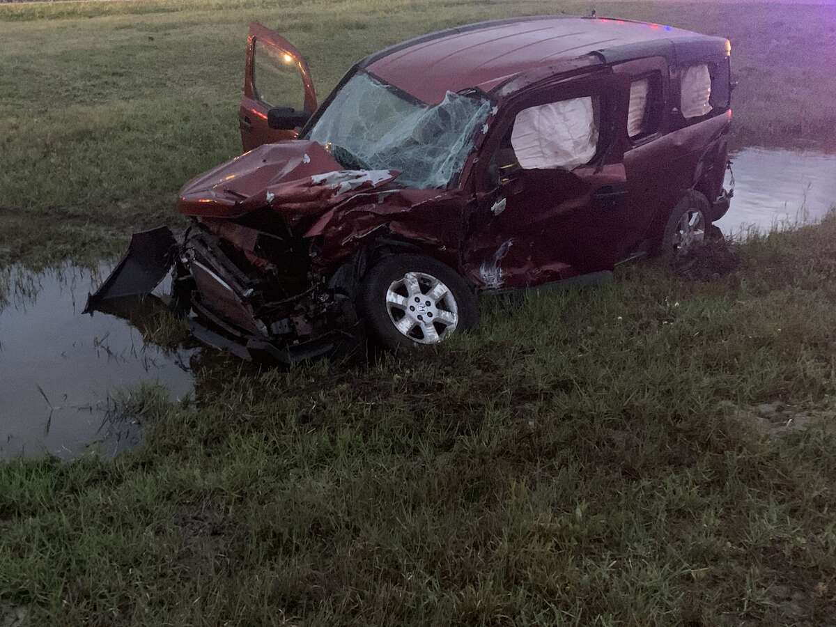 A driver was injured and cases of beer were spilled across Highway 35 in Aransas Pass early Thursday, May 13, the Aransas Pass Fire Department reported.
