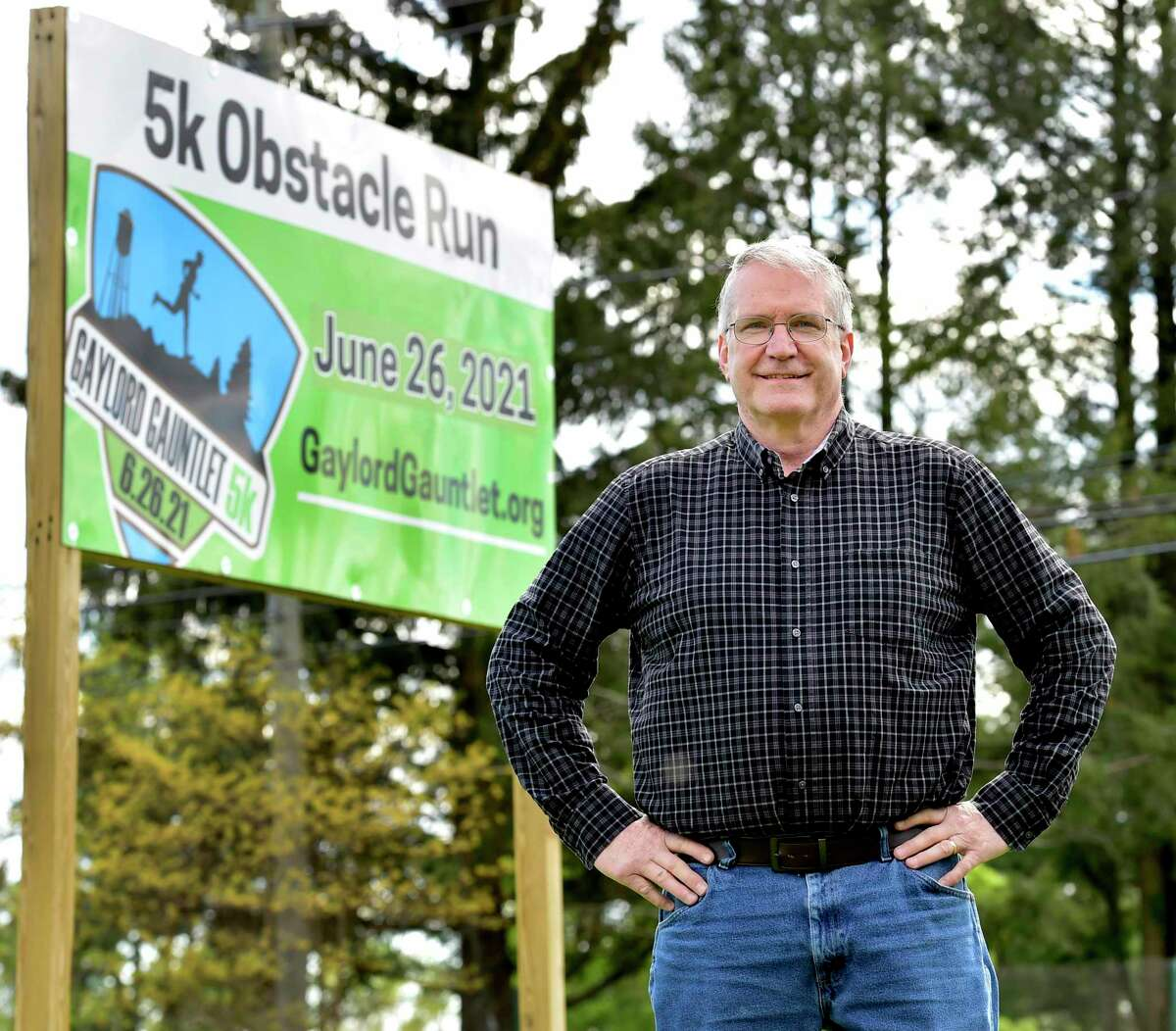 Greg Whitehouse, 61, will run the Gaylord Guantlet 5K & Obstacle Race in Wallingford, after recovering from COVID-19 and then suffering a paralyzing disorder.