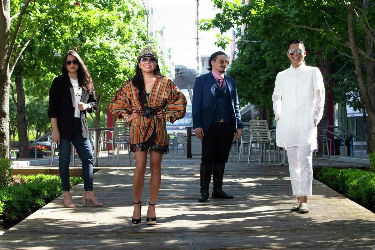 Designers Sameera Faridi, from left, Tina Zulu, Danny Nguyen and Nicholas Phan Nguyen.