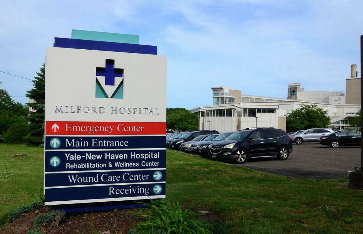 Milford Hospital in Milford, Conn., on Friday June 7, 2019.