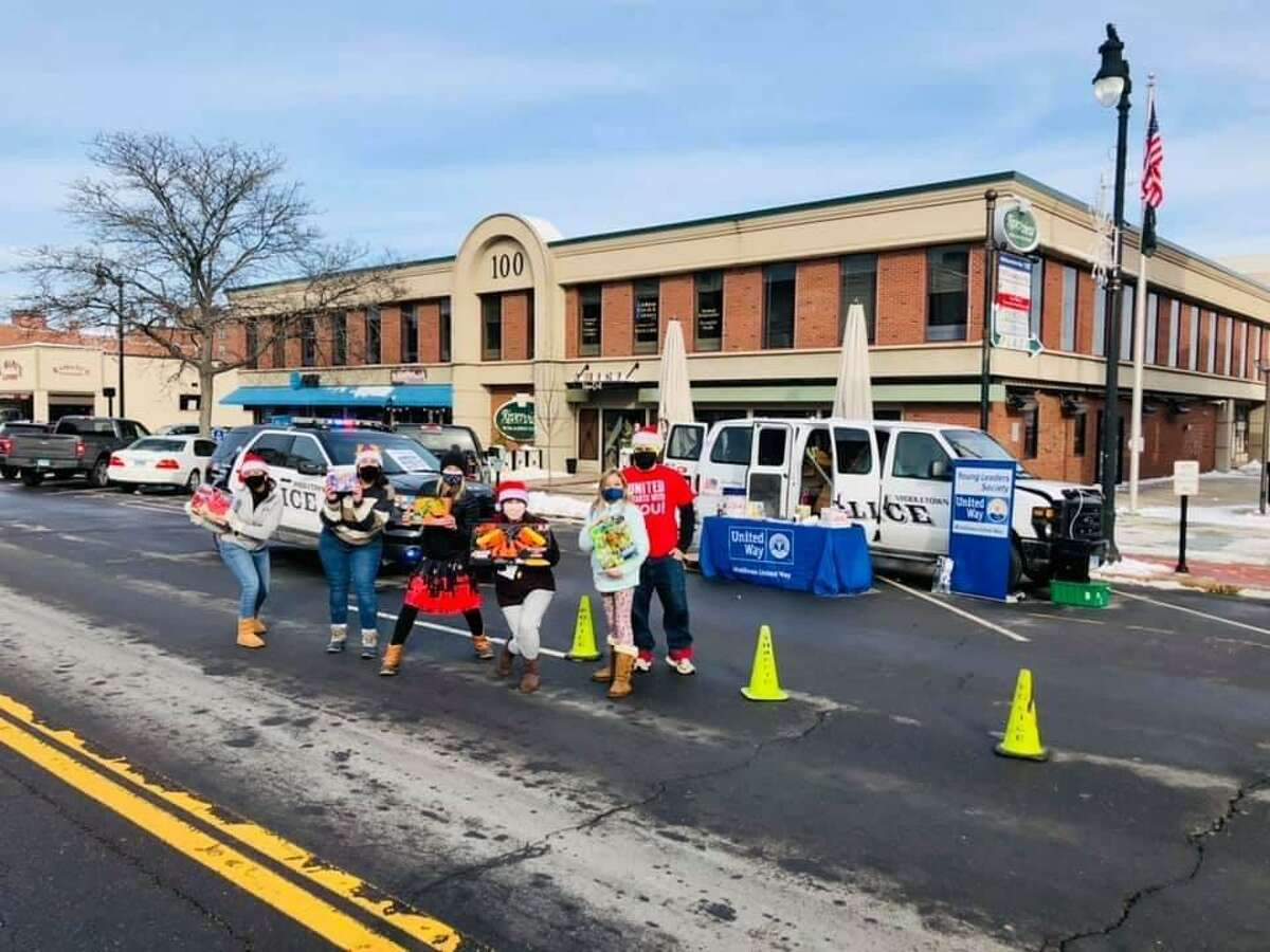 The Middlesex United Way Young Leaders Society hosted a Stuff-a-Cruiser last year on Main Street in Middletown.