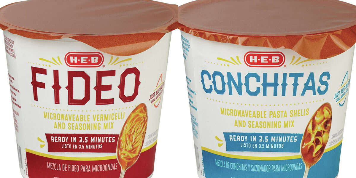 Thanks to H-E-B's new, revolutionary miniature cups of conchitas and fideos, you can have the classic childhood cravings of home in about three minutes, regardless of whatever excuses your mom is making to not cook them.