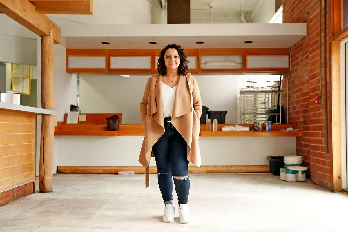 Mona Michael, owner of Mana'eesh Lady pop-up, finally found a space to open a California-Palestinian restaurant, Lulu, on Camelia Street in Berkeley this summer.