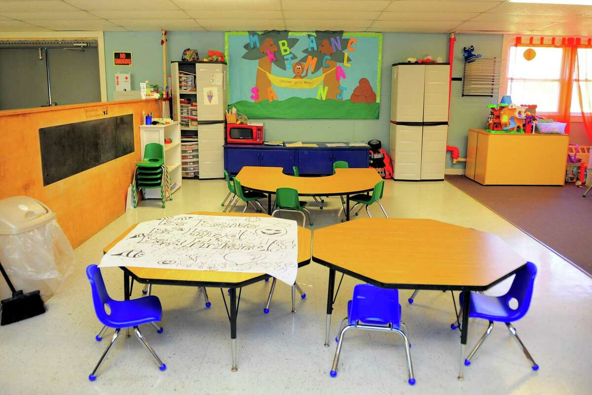 A preschool and child-care facility in Shelton that has been at low capacity since the start of the pandemic.