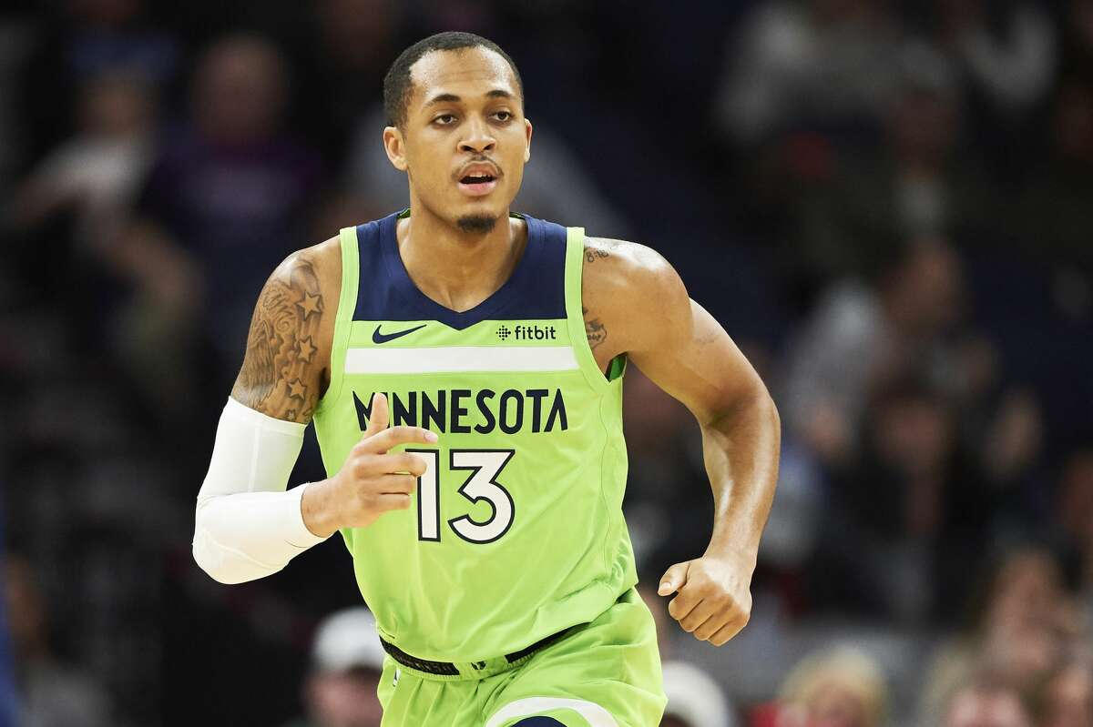 Undrafted out of Tulane, Cam Reynolds played in 19 games with the Timberwolves in 2018-19.