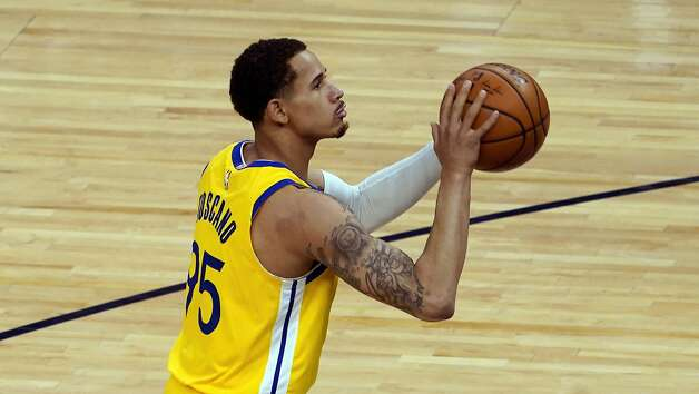 Golden State Warriors' Juan Toscano-Anderson (95) plays against the Minnesota Timberwolves in an NBA basketball game, Thursday, April 29, 2021, in Minneapolis. (AP Photo/Jim Mone) Photo: Jim Mone / Associated Press