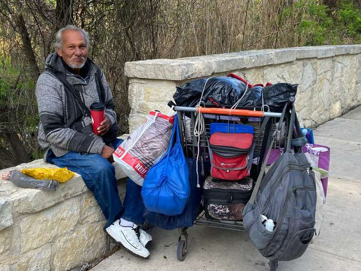 Juan Apolinar Jr. loved to read and had moved to Brackenridge Park after his mother died. Solving homelessness begins with seeing the homeless as people