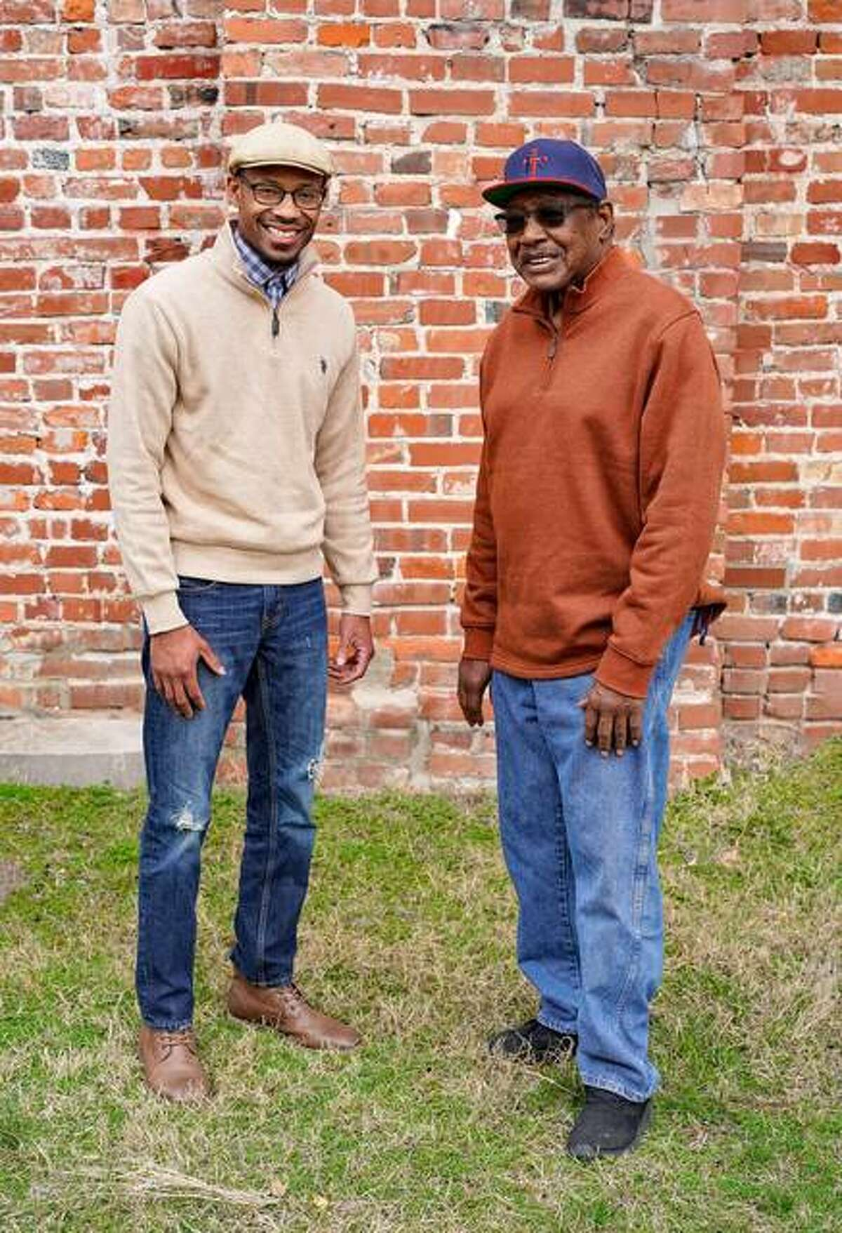 Jason Harrison and Willie Franklin are among the more than 30 Alton residents featured in Untold Black Stories of Alton.
