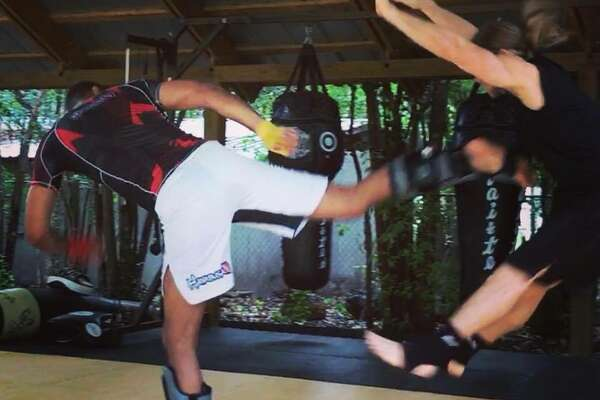 Tim Duncan spent the last decade supplementing his Spurs training with kickboxing at Echols Fitness Center in San Antonio.
