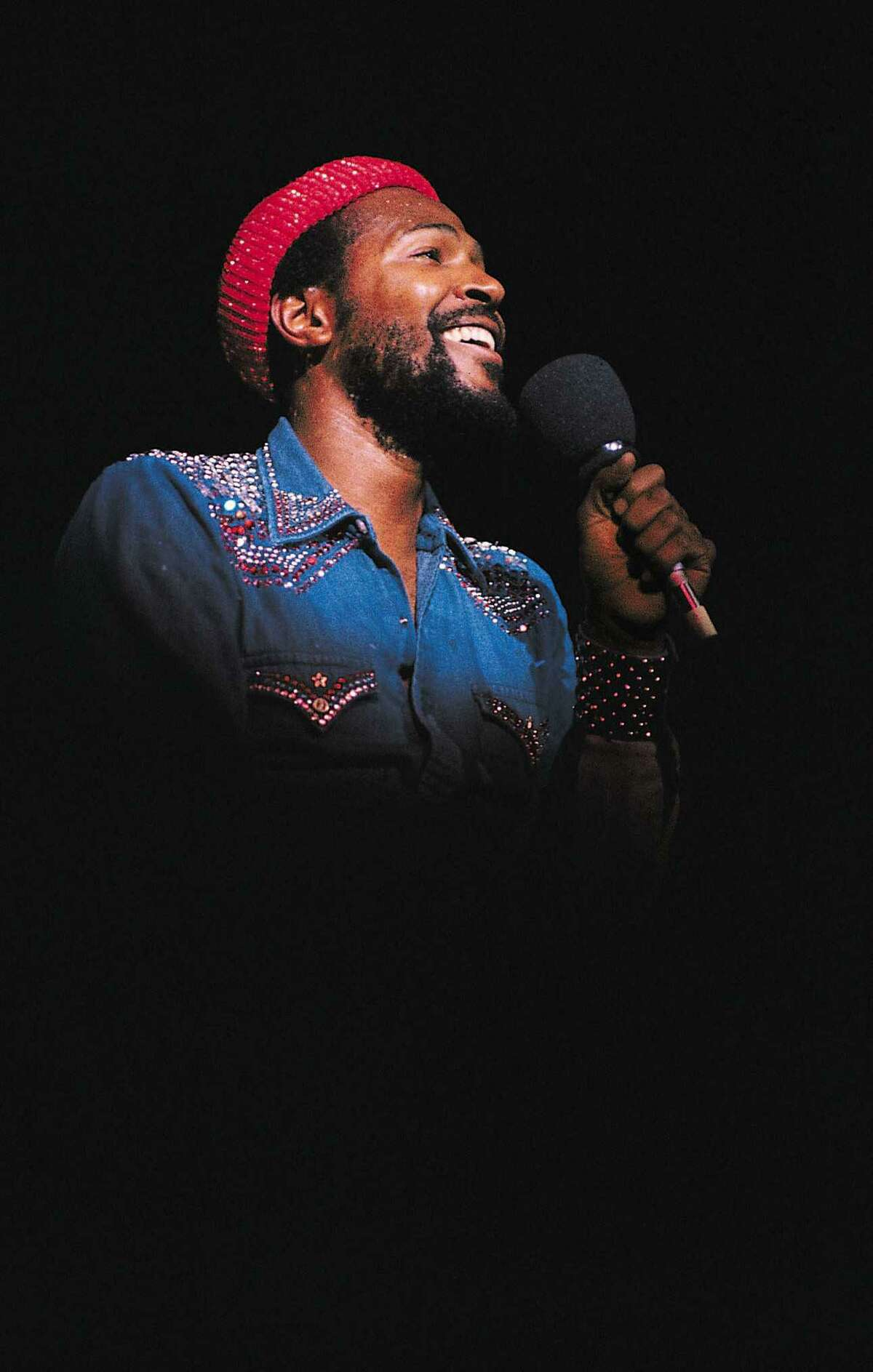 """Marvin Gaye, pictured in the early 70s. The 50th anniversary of the release of the album """"What's Going On,"""" which elevated Gaye's stature as an artist and established him as a genius, is May 21."""