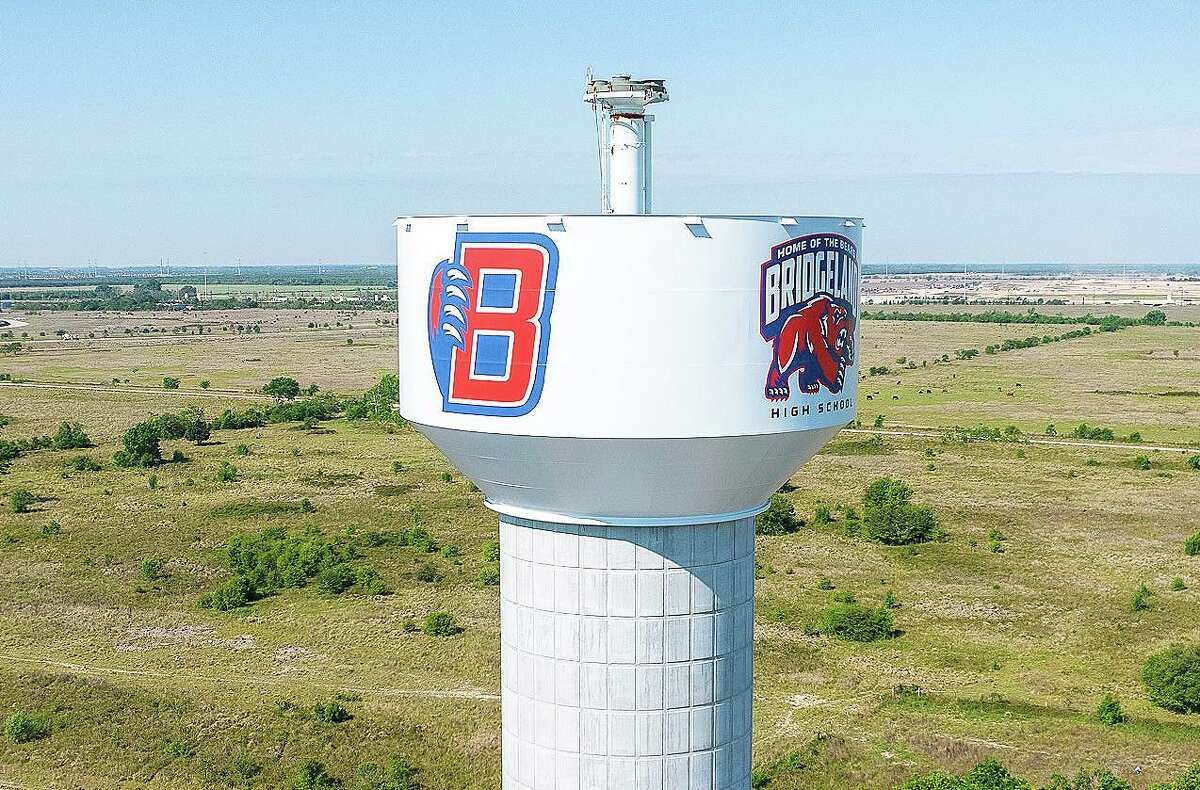 The new water tower in Bridgeland is expected to come online in July this summer. The tower will serve approximately 5,000 residents.
