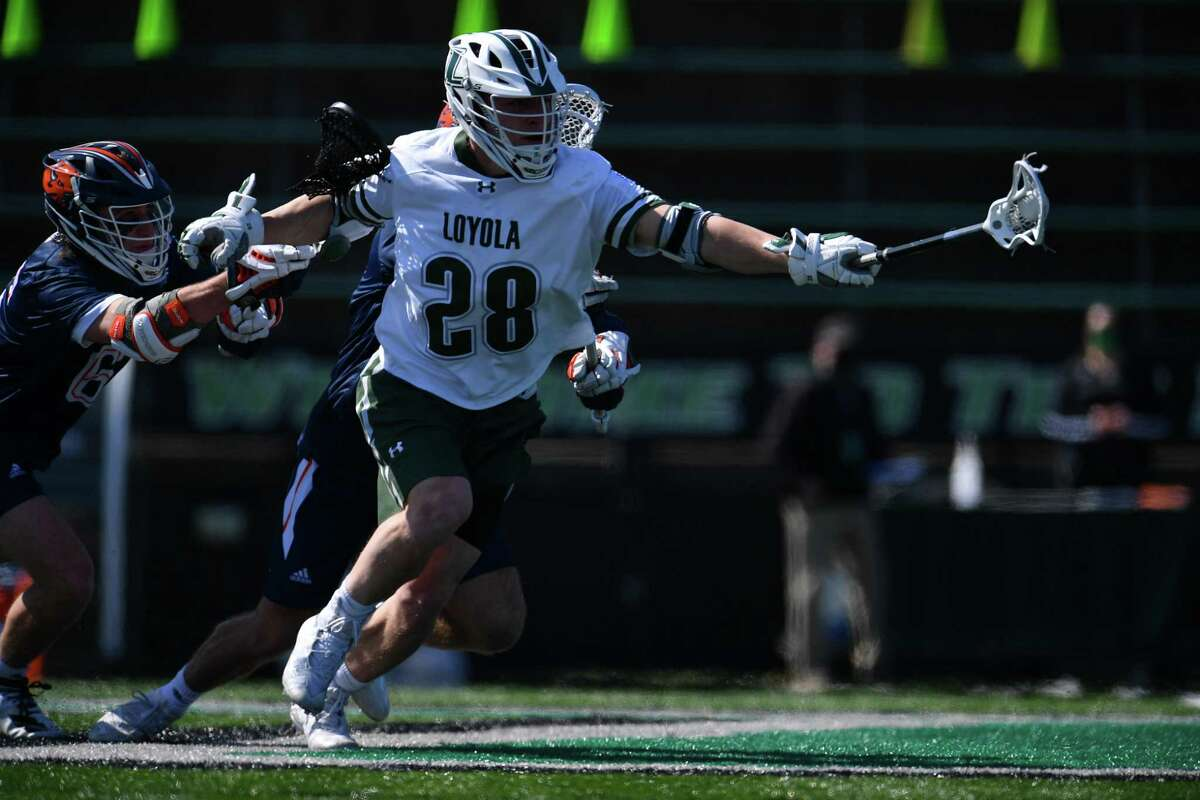 Greenwich's Bailey Savio has played a key role in leading Loyola into the NCAA men's lacrosse tournament.