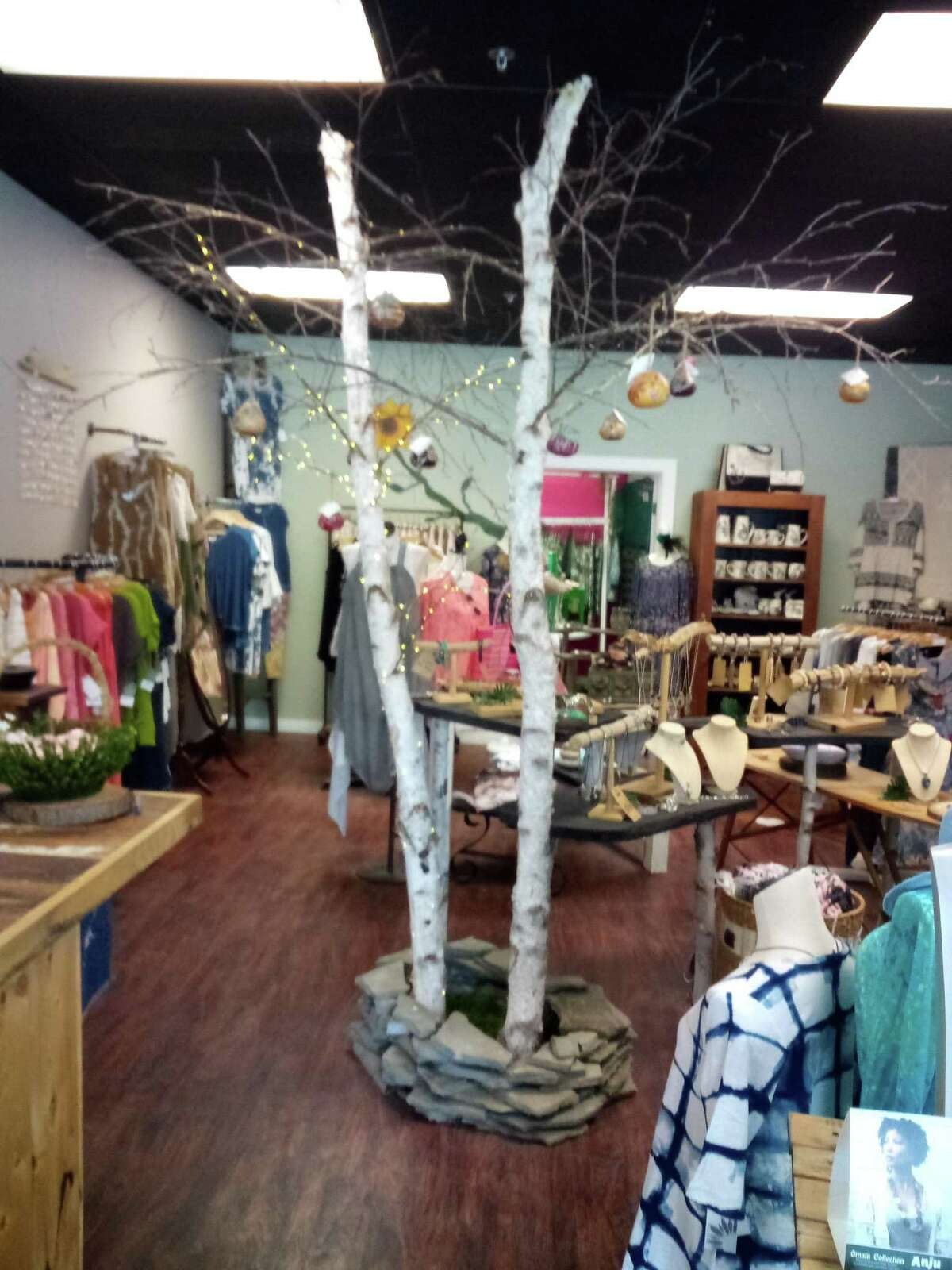 LIVe, a clothing and gift store on Main Street in Winsted, is owned by Jackie McNamara of Torrington.
