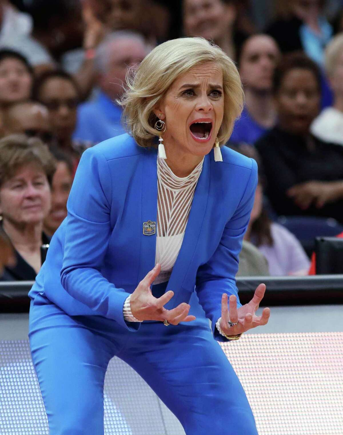 Former Baylor coach Kim Mulkley won two national titles while with the Bears.