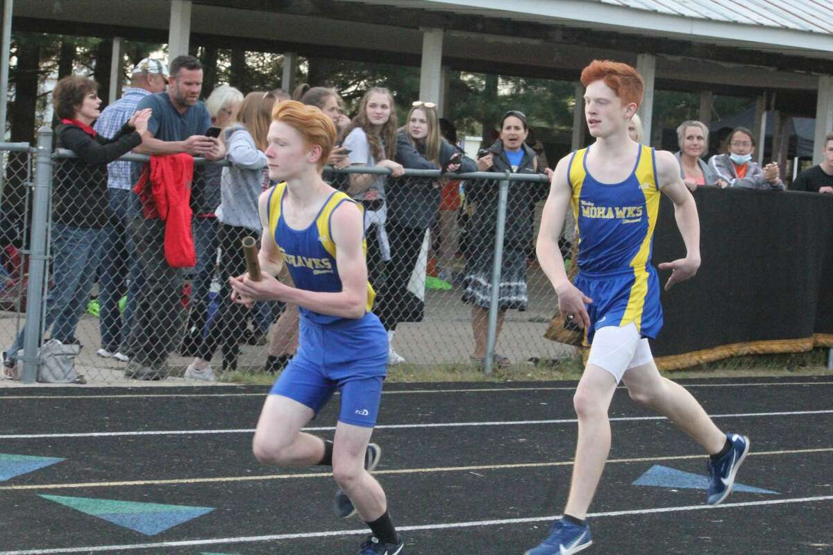 Both Morley Stanwood teams took third place in Friday's CSAA Gold track and field meet, hosted by the Mohawks.