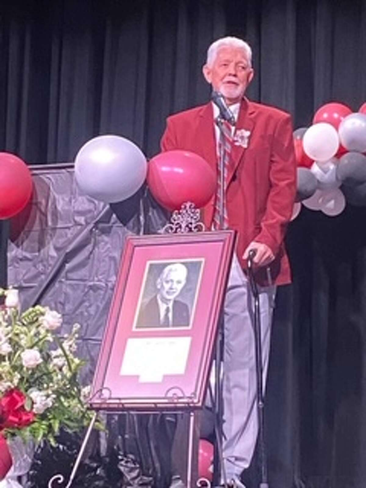 Former Midland High head girls basketball coach and former Midland College assistant women's basketball coach John Loftin was recently inducted into the Tulia ISD Hall of Fame.