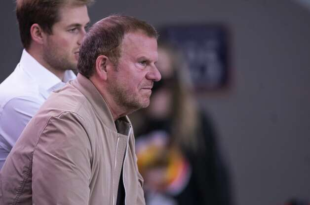 Houston Rockets owner Tilman Fertitta watches during the third quarter of an NBA game between the Houston Rockets and the LA Clippers on Friday, May 14, 2021, at Toyota Center in Houston. Photo: Mark Mulligan/Staff Photographer / © 2021 Mark Mulligan / Houston Chronicle