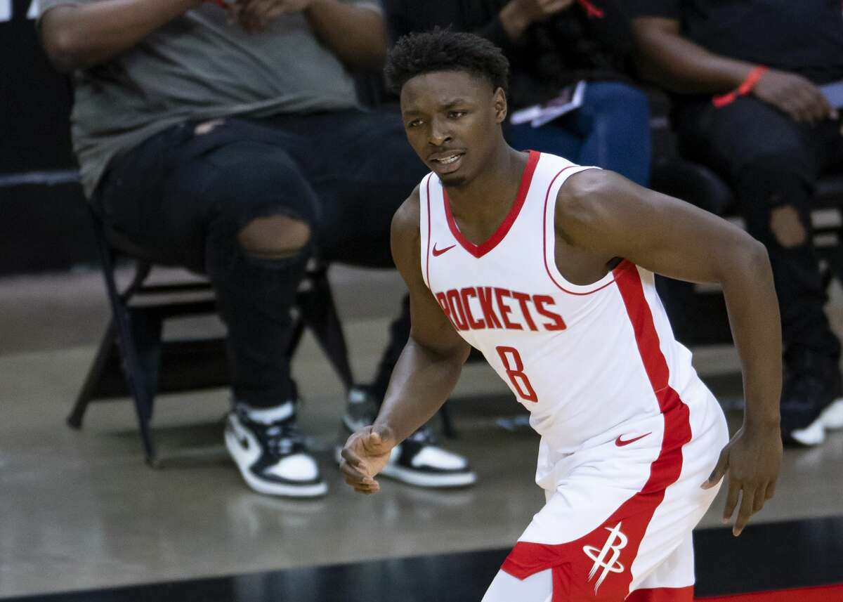 After two pro seasons abroad, Jae'Sean Tate immediately appeared far more advanced than most rookies and immediately contributed to the Rockets in a variety of ways.