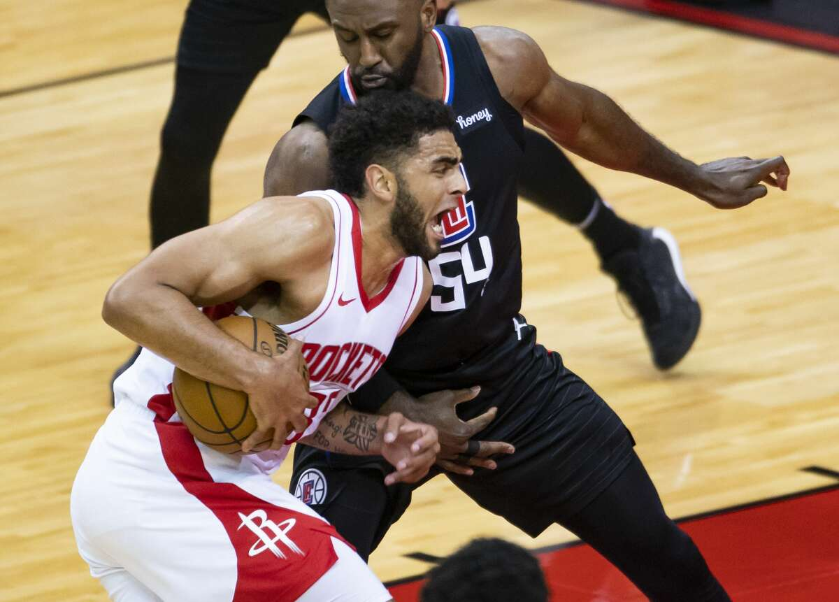 Anthony Lamb had a strong finish to his season after joining the Rockets from the G League earlier in the year.