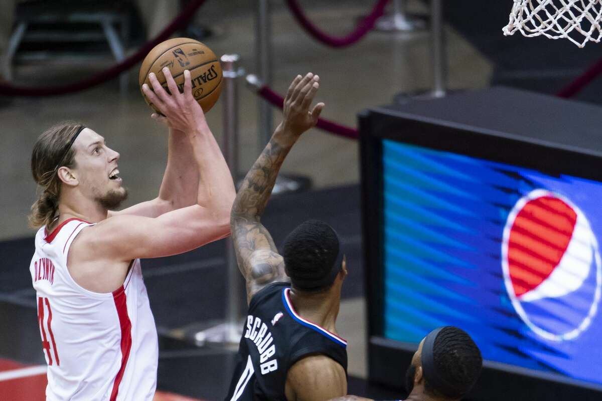 Kelly Olynyk, a pending free agent, exceeded every expectation offensively after the Rockets acquired him at the trade deadline.